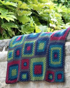 Uppermill Blanket pattern leaflet