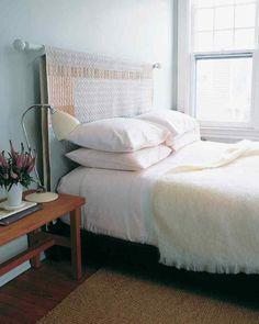 Изголовье для кровати: 15 DIY-идей и 4 мастер-класса – Своими руками