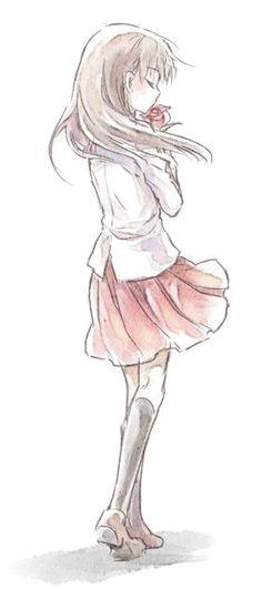 Girl School Uniform Rose