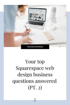 Wondering what it takes to start (or grow) your web design business? How to land clients? Set your prices? Or much you can expect to make as a designer? I'm answering all these and more in this 4 part Squarespace web design business Q A!    #squarespace #squarespacewebsite #squarespacetemplates  #websiteideas #squarespacetips #webdesigner Simple Website Design, Beautiful Website Design, Custom Website Design, Website Design Inspiration, Branding Portfolio, Web Design, Business Design, Tips, Blog