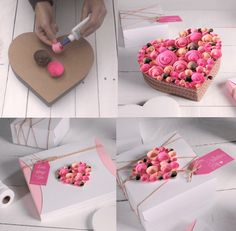 1 million+ Stunning Free Images to Use Anywhere Creative Birthday Gifts, Handmade Birthday Cards, Diy Gift Box, Diy Gifts, Bouquet Box, Boquet, Chocolate Flowers Bouquet, Flower Box Gift, Gift Wrapper