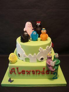 BARBAPAPA Cake Designs For KidsCharacter