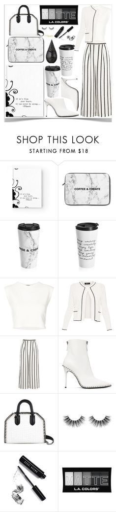 """77SPARK"" by zumzum-1 ❤ liked on Polyvore featuring Puma, Paule Ka, Finders Keepers, Alexander Wang, STELLA McCARTNEY, Velour Lashes, Bobbi Brown Cosmetics, L.A. Colors and La Prairie"