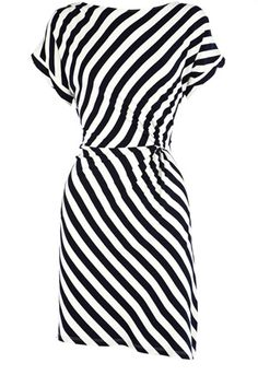 Flattering Stripes for my little daughter, she could totally wear this and MAKE IT LOOK GOOD!!