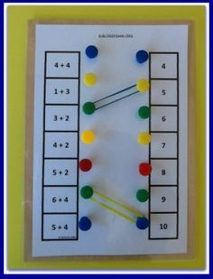What is Mental Math? Well, answer is quite simple, mental math is nothing but simple calculations done in your head, that is, mentally. Preschool Learning Activities, Montessori Activities, Math Classroom, Kindergarten Math, Preschool Activities, Teaching Aids, Teaching Math, Math Addition, Simple Addition