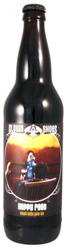 Cerveja Clown Shoes Hoppy Feet, estilo India Pale Ale (IPA), produzida por Clown Shoes, Estados Unidos. 7% ABV de álcool.