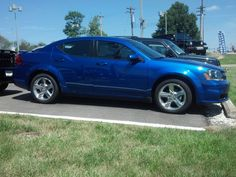 We love this shade of blue on the 2013 Dodge Avenger...what a knockout!  www.zimmermotors.com