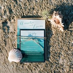 The Best Beach Weddings on Instagram; Why not make every single detail fit the beach-chic theme?