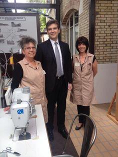 #JPLVMH #LouisVuitton #Asnieres Twitter / montebourg : Avec les ouvrières de Louis ...