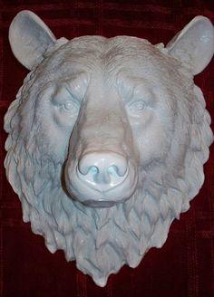 white bear mount