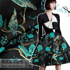 Objective 145cm Leaf Jacquard Fabric Yarn-dyed Fashion Suit Dress Jacquard Fabric Jacquard Dress Fabric Wholesale Cloth Ebay Motors Apparel & Merchandise