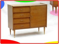 BUFFET COMMODE VINTAGE ANNEES 70/80