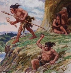 Neanderthal man goes on a hunting mission: Researcher believe bird feathers may have been used as decoration by the early hominids