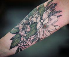 Magnolia, dogwood, juniper and lavender. Thanks so much, Sasha!!