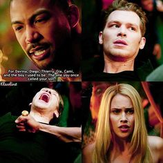 Davina was Elijah's fault. Diego was killed by werewolves/Mikael. Thierry was killed by Elijah. Cami was killed by Lucien and what led up to all that was not Klaus's fault and he did try to save her. He saved Marcel and made him what he is, a person Marcel seems to like a lot. Gia is the only death Klaus is responsible for
