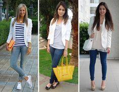 Tendência: blazer branco « Mariana Sampaio