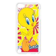 Tweety Bird Theme Phone Cover Case For iPod touch 5 White CGD165019 - Brought to you by Avarsha.com