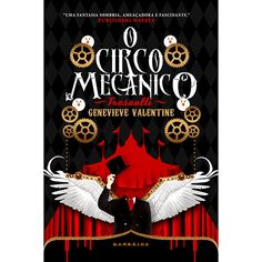 Livro - O Circo Mecânico Tresaulti 19,9