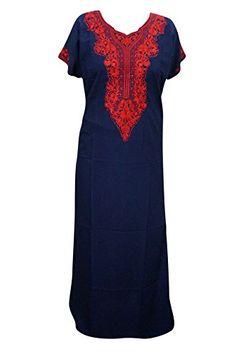 Mogul Interior Nightgown MaxiCotton Blue Neck Embroidered... https://www.amazon.co.uk/dp/B01MT59MUT/ref=cm_sw_r_pi_dp_x_8tiGybCPCZXV1