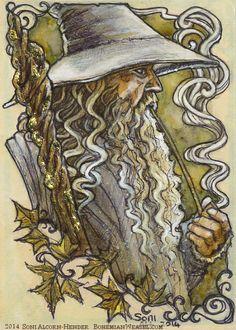 Gandalf's pipe. Soni Alcorn-Hender