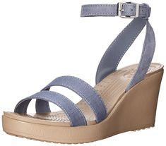 f29b1d1bdbd2 Crocs Women s Leigh Wedge Sandal -- Click on the image for additional  details. (