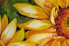 SUNFLOWER SMILES - by Marcia Baldwin from Florals