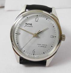 HMT Janata Arts Déco' model WD Mechanical Watch Very Vintage Without lines | eBay