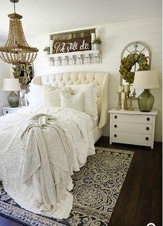 Spare bedroom off kitchen