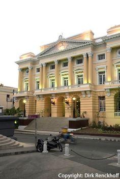Cuba, Palacio Provincial  in Santiago de Cuba. Photo: Dirk Renckhoff