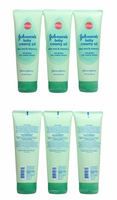 Bathing and Grooming 20394: Johnson S Baby Creamy Oil Aloe Vera And Vitamin E 8 Fl Oz Lot Of 3 -> BUY IT NOW ONLY: $71.24 on eBay!