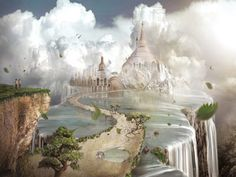 Edge Of World, magical places. The Ancient Civilization of Lemuria was the first Human Being experience on planet Earth. The Lemurian people were highly evolved, very spiritual and had an equal balance of the feminine and masculine principles. The Lemurian Dreamers dreamed the reality into physical manifestation and dreamed personal Dreams for the people of the Ancient civilisation.