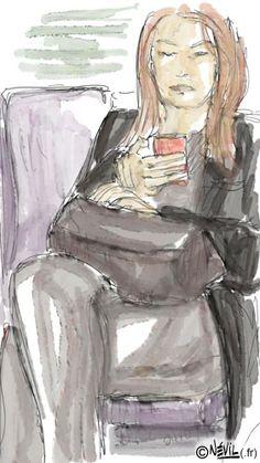 """""""Le vif du sujet"""" #258 L'intégrale des illustrations ici : http://azotecomics.com/vifdusujet"""