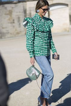 We've selected the most coveted Paris street style, fresh from the SS16 shows.