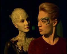 The most feared species of star trek...the borg. The borg queen herself controls billions of drones, worlds, and vessels. The only goal...perfection.