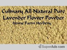 Lavender Flower Powder, Order now, FREE shipping in New York NY - Free New York SuperAds