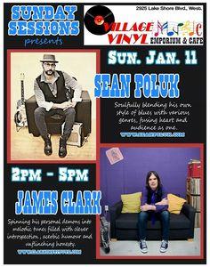 Sean Poluk & James Clark  Blues/Roots/Folk music Toronto Canada