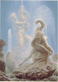 A Fonte de Esedra - O Tritão