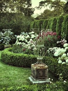 Bee Cottage Garden - love the shape it is taking on.  Maybe this would work along the side of our house....