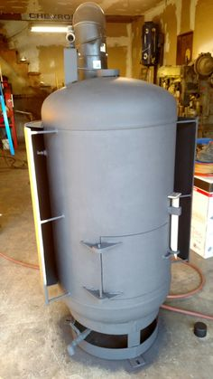 My drip feed waste oil heater