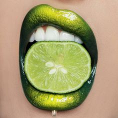In the Limelight - Makeup Artist Vlada Haggerty Takes Lip Art to the Next Level - Photos The Effective Pictures We Offer You About lips makeup glossy Lipstick Art, Lip Art, Liquid Lipstick, Green Lipstick, Makeup Art, Lip Makeup, Beauty Makeup, Makeup Ideas, Loona Kim Lip