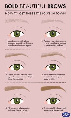Gorgeous eyebrows are in! Follow these simple steps to achieve this winter trend.