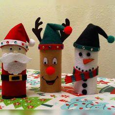 nikolaus aus toilettenrollen weihnachten pinterest. Black Bedroom Furniture Sets. Home Design Ideas