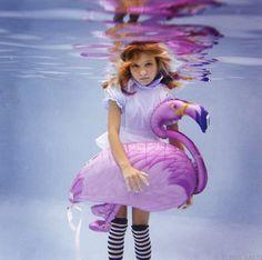Beautiful 'Alice in Wonderland'-Inspired Underwater Photos by Elena Kalis