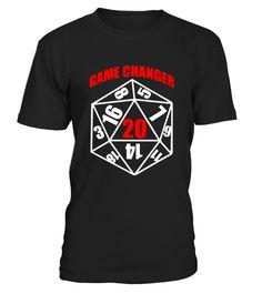 Funny Game Changer  Geek Nerd Gamers Gift  #tshirtprinting #tshirtfashion #tshirtdesign #tshirtteespring