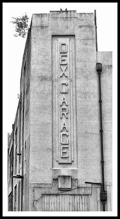 Art Deco Garage