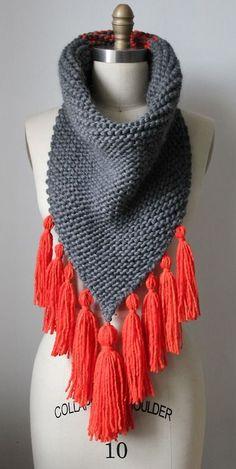 Cómo hacer una funda para tu telefono movil a crochet/ganchillo/uncinetto/häkeln Crochet Scarves, Crochet Shawl, Knit Crochet, Knitting Projects, Knitting Patterns, Crochet Patterns, Crochet Capas, How To Purl Knit, Cowl Scarf