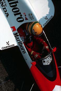 Ayrton Senna McLaren Honda 1989
