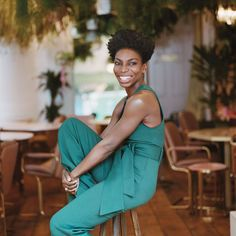 Michaela Coel for British VOGUE / Hair by Kevin Fortune