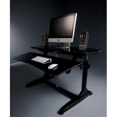 Ergonomic sit-stand desk