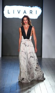 Orange is the New Black star Alysia Reiner strutted her stuff down the Livari runway. The brand is the vision of the actress along with celebrity stylist Claudine DeSola and Tabitha St. Bernard-Jacobs , who organized the Women's March.